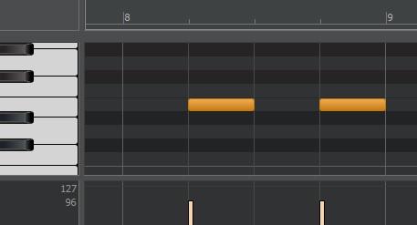 4つ打ちでのスネアは2,4拍で鳴らす