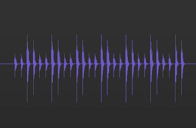波形データの画像