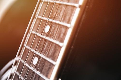 エレキギターの拡大画像