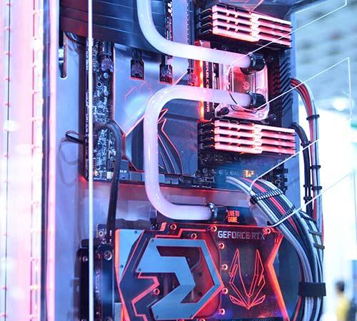 水冷化した自作PC