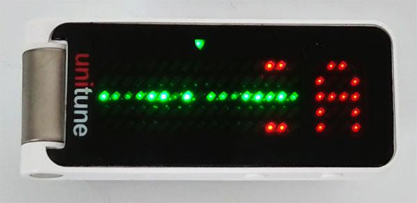 ストロボモードはピッチが合致すると粒子の流れがゆっくりになります
