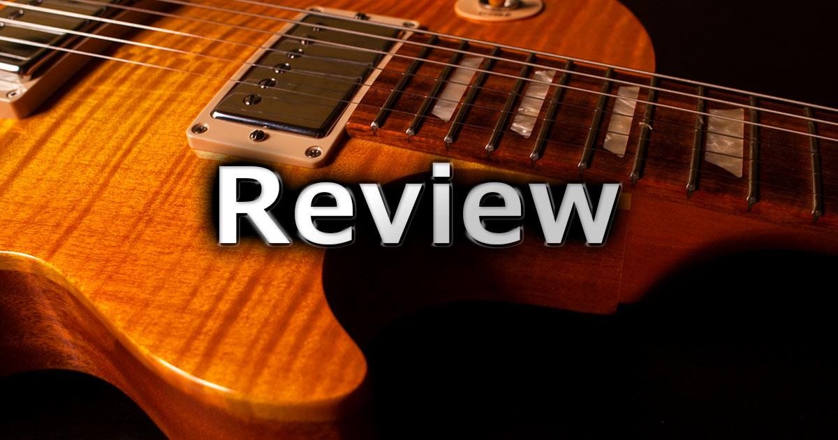 機材レビュー(ギター)