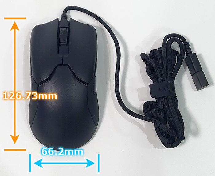 黒一色のマウス