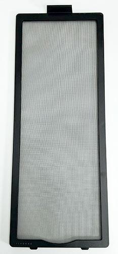 フロントダストフィルターは柔らかい繊維で構成されています