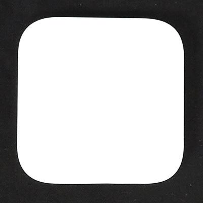 表面にはNatureのロゴマーク有り、エンボス加工のみで目立たない