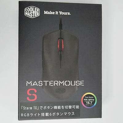 マウス本体写真とモデル名が印字されています