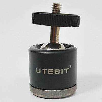 自由雲台にはUTEBITの会社名のみ印字されています。