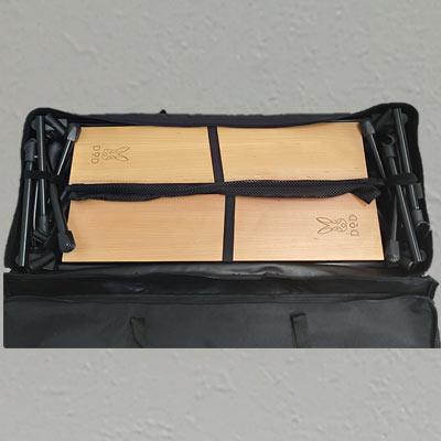収納ケース内は隙間が無い程、みっちりと収納されています