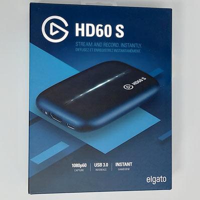 表面にはHD60S本体写真が印刷されています