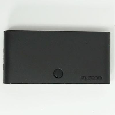 表面にチャンネル切替スイッチが配置されています